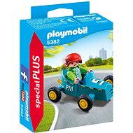 Playmobil 5382 Boy with Go-Kart - Building Kit