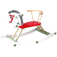 Bino Rocking horse wooden - Rocker