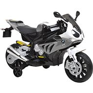 BMW Ride-on Motorbike - White/Grey - Children's electric motorbike