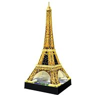 Ravensburger 3D 125791 Eiffel Tower (Night Edition) - Puzzle