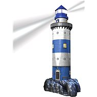 Ravensburger 3D 125777 Lighthouse in Surface (Night Edition) - Puzzle