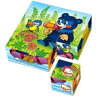 Bino Wooden Blocks - Baribal - Picture Blocks