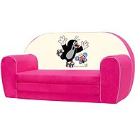 Bino Mini-pink sofa - Little Mole - Children's Furniture