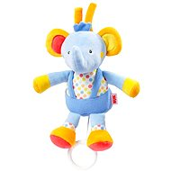 Nuk Pool party - Musical Pullstring Elephant - Cot Toy