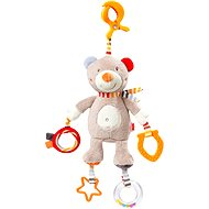 Nuk Forest Fun - teddy bear with a clip - Cot Toy