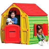 Magical Little House with Red Roof - Children's playhouse