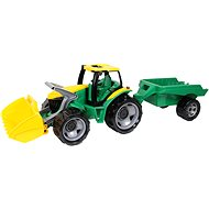 Lena Powerful Giants Tractor with Front Loader and Trailer - Toy Vehicle