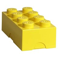 LEGO Lunch box 100 x 200 x 75 mm - yellow