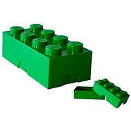 LEGO Lunch box 100 x 200 x 75 mm - dark green
