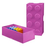 LEGO Lunch box 100 x 200 x 75 mm - pink