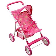 Sporty pushchair with protective canopy