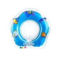 Floating neck collar Flipper blue - Inflatable Toy