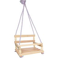 Wooden Swing - Natural - Swing