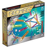 Geomag - Glitter 30 pieces - Magnetic Building Set