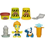 Play-Doh Town - A road worker with a pet - Creative Kit