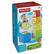 Fisher-Price - Stack and Explore Blocks