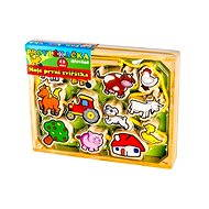 Wooden String - My First Animals 12Pcs