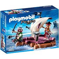 PLAYMOBIL® 6682 Pirate Raft - Building Kit