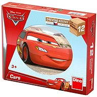 Dino Wood Cubes- Cars - Picture Blocks