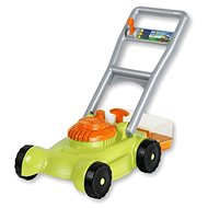 Androni Green Garden Lawn Mower with Collection Basket - Children's Lawn Mower