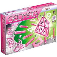 Geomag - Kids Pink 68 pieces - Magnetic Building Set
