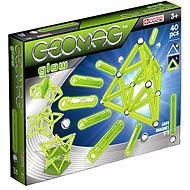 Geomag Glow 40 Pieces - Magnetic Building Set