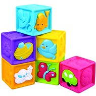 Kids' squeaky cubes 6 pcs