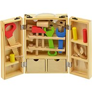 Tools in wooden case - Game set