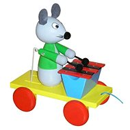Pull-Along Mouse with Xylophone - Push and Pull Toy