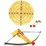 Small Crossbow with Arrows and Target - Children's Weapon
