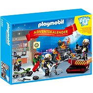 Playmobil 5495 Advent Calendar Fire Rescue Operation with Card Game - Building Kit