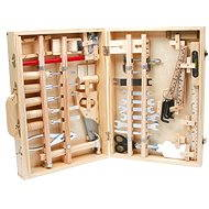 Deluxe Wooden Toolbox - Game set