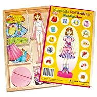 Magnetic Dress-Up Doll - Magda - Game set