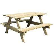 PIC-NIC tables with 2 benches - Children's furniture