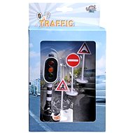 Functional traffic lights and traffic signs - Game Set