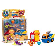 SuperZings - Blister Figurines and Vehicle - Collector's Kit