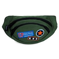 CoolPack Albany Badges green - Bumbag