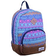 CoolPack Classic Blue Tribal - Backpack
