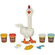 Play Doh Animal Crew Cluck-a-Dee Chicken - Game Set