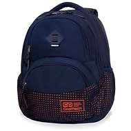 CoolPack Dart II Dots Orange / Navy - School Backpack