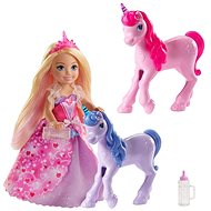 Barbie Princess Chelsea and Foal of the Unicorn - Doll