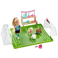 Barbie Chelsea Soccer Player Game Set - Doll