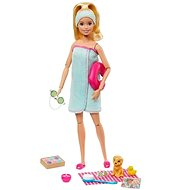 Barbie Wellness doll with magazine
