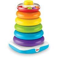 Fisher-price Giant Rings on Rod - Toddler Toy