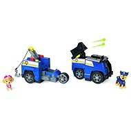 Paw Patrol Two Rescue Vehicles in One Chase - Toy Car