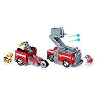 Paw Patrol Two Rescue Vehicles in One Marshall - Toy Car