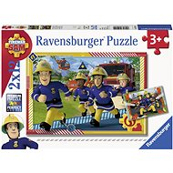Ravensburger 050154 Fireman Sam and his Team 2x 12 pieces