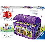 Ravensburger 111732 Storage Box with Lid Horse