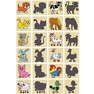Memory animals and their shadows - Board Game