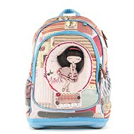 Anekke Patchwork with Hard Bottom - School Backpack